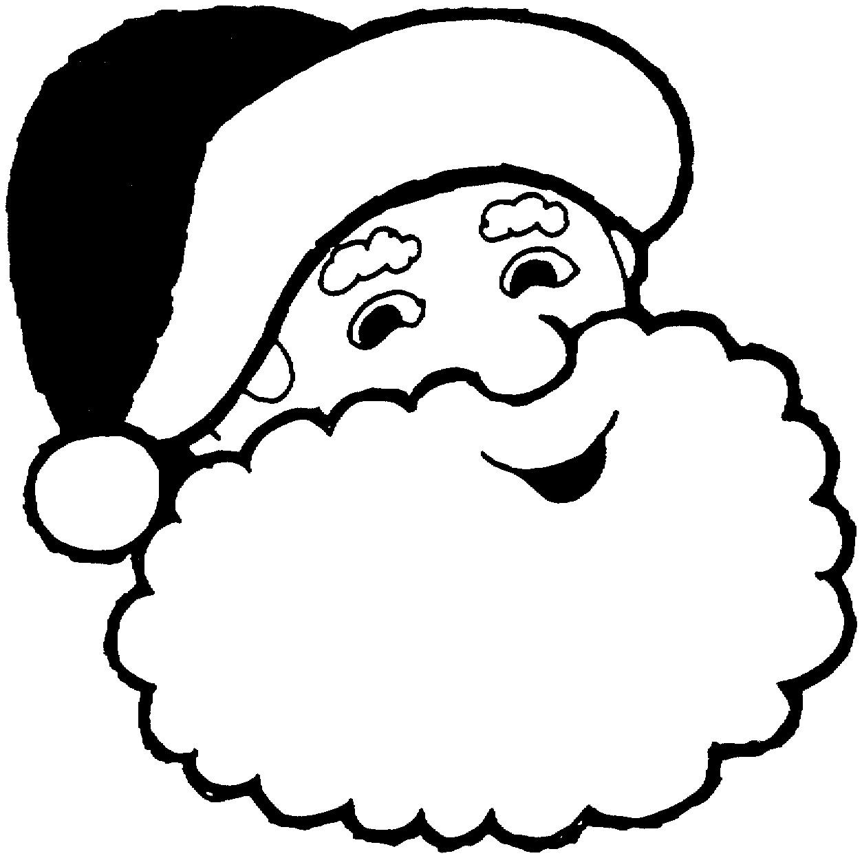 Дед мороз Раскраска зима пришла