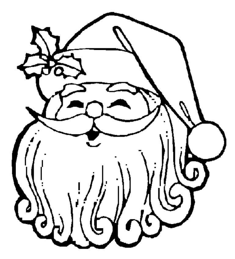 Дед мороз хохочет Раскраска зима пришла