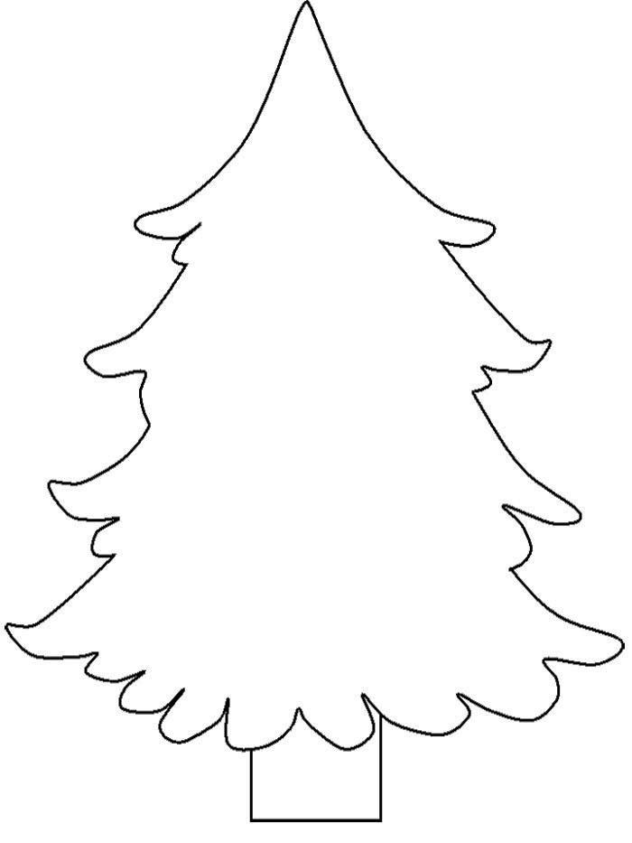 Новогодняя елка Раскраска сказочная зима