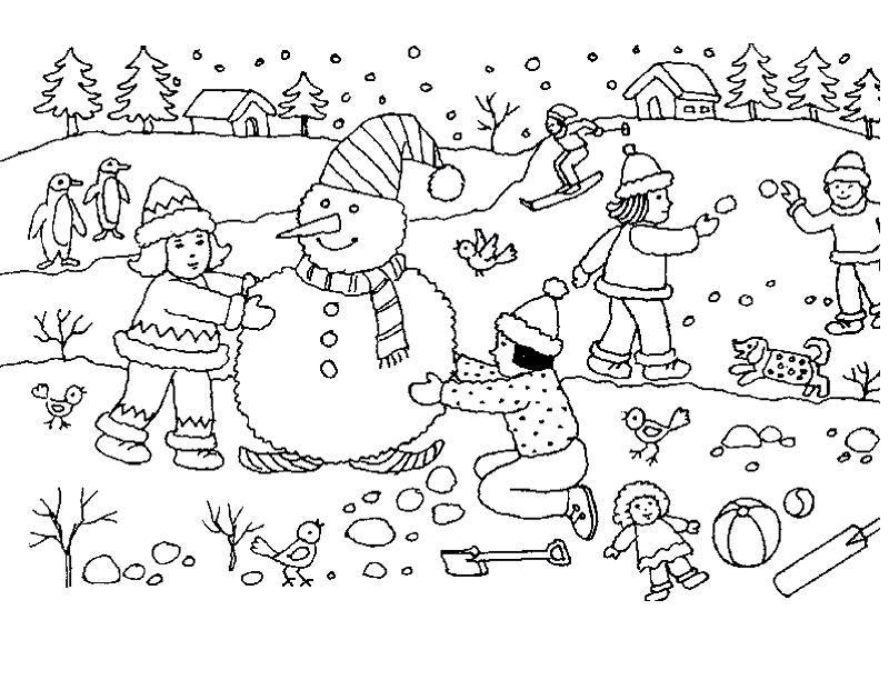 Игры раскраски с картинками для детей
