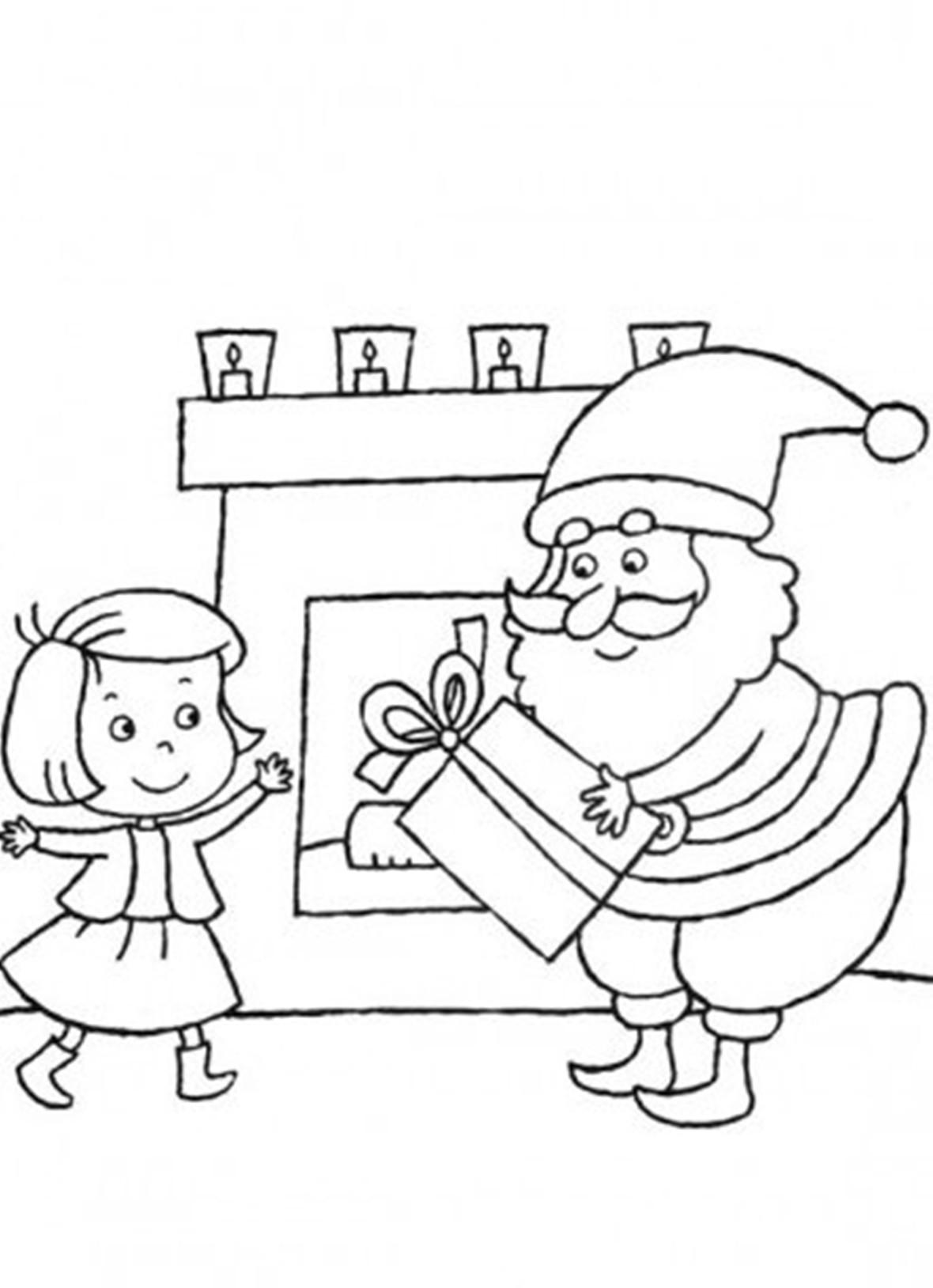 Подарки для девочки Раскраска сказочная зима