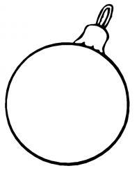 Шаблон шара для поделок Зимние раскраски для мальчиков