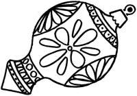 Шар интересной формы с рисунком Зимние раскраски для мальчиков