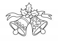 Колокольчики и звездочки Зимние раскраски для мальчиков