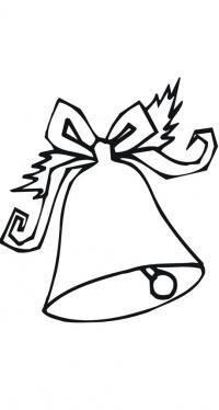 Звенящий колокольчик Зимние раскраски для мальчиков