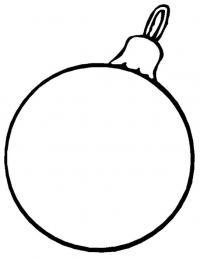 Елочные шары Раскраска сказочная зима