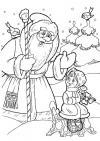 Морозко Раскраски зимушка зима