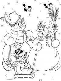 Лыжи Рисунок раскраска на зимнюю тему