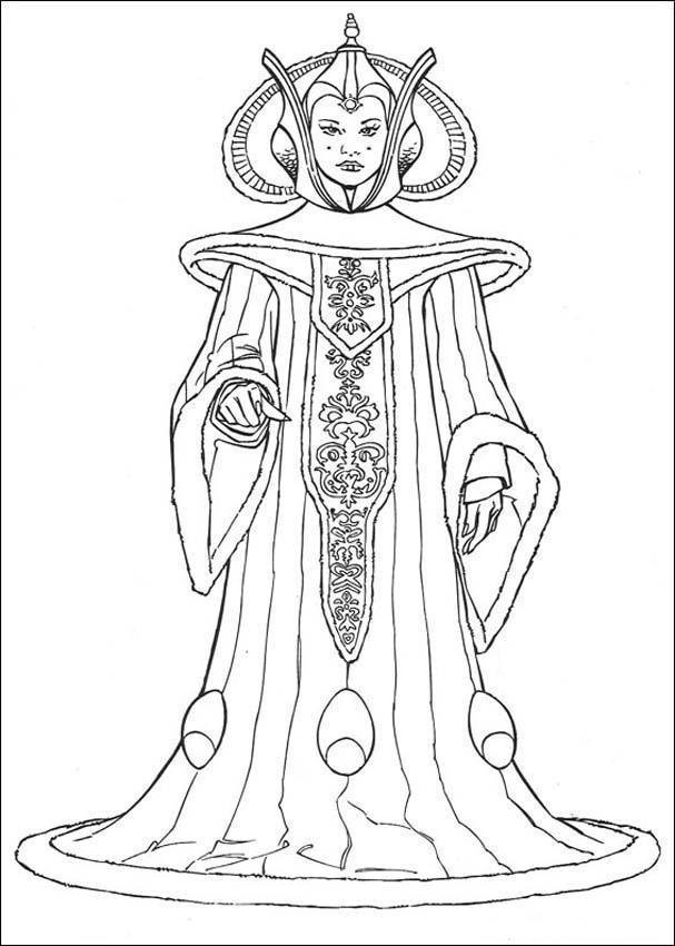 Еще один вариант снежной королевы Зимние раскраски для мальчиков