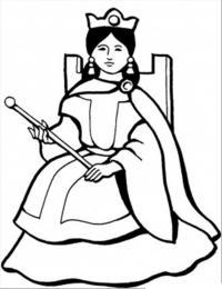 Королева Раскраски про зиму для детей