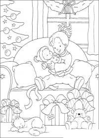 В ожидании нового года Зимние рисунки раскраски