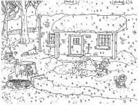 Дети на улице Детские раскраски зима распечатать