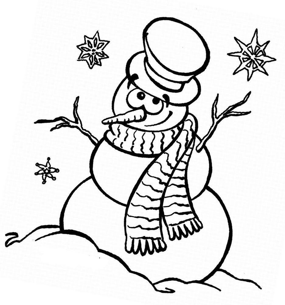 Картинки про зиму печатать