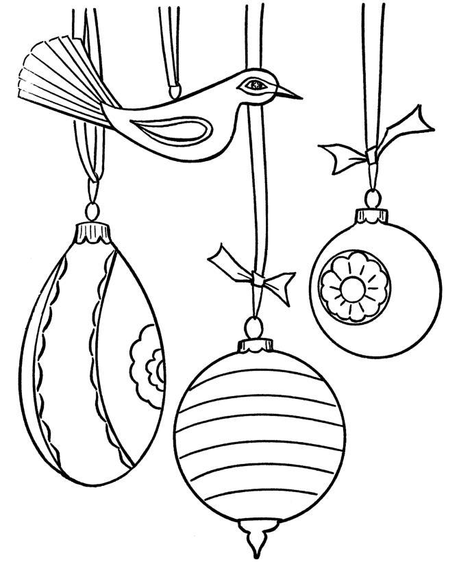 Новогодние шары Зимние раскраски для мальчиков