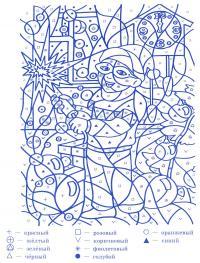 Встреча нового года Зимние раскраски для девочек