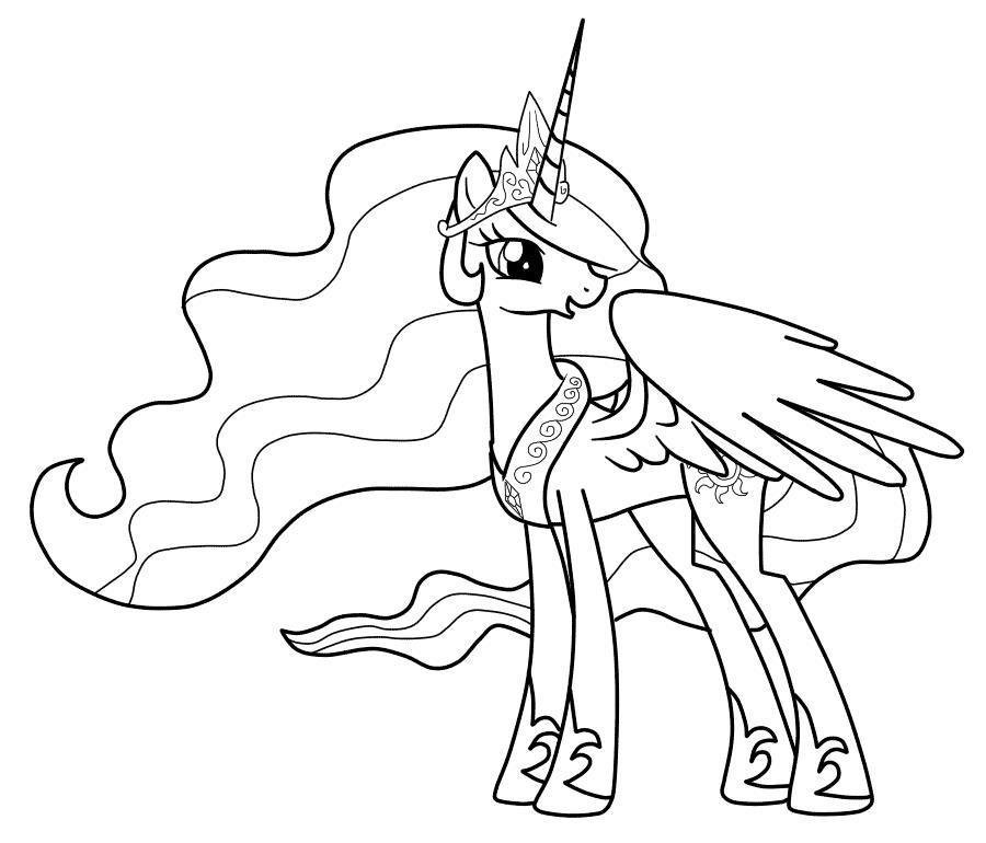 Май литл пони с крыльями принцесса пони Раскраска зима пришла