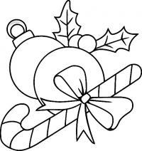Елочные украшения, шары для елки Детские раскраски зима распечатать