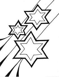 Игрушка звезда новогодняя Зимние раскраски для малышей