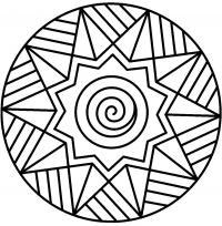 Звезда на шаре Детские раскраски зима распечатать