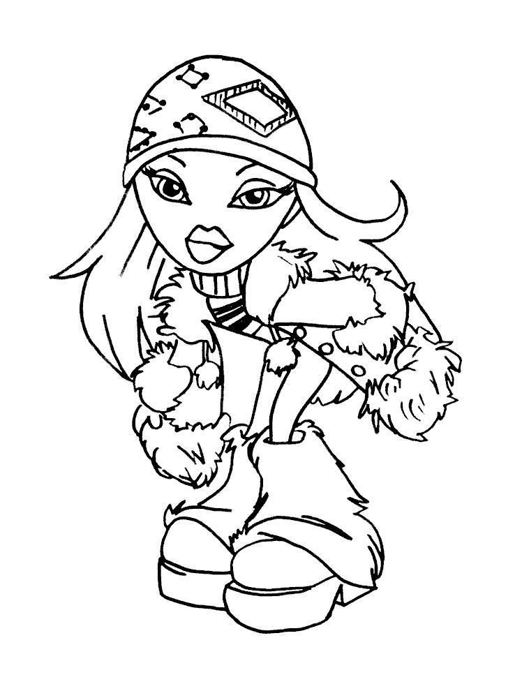 В зимнем Детские раскраски зима распечатать