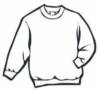 Зимняя одежда, свитер Раскраска зима пришла