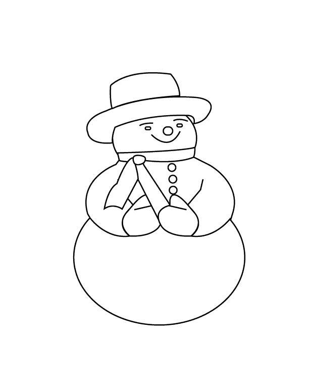 маленькая картинка снеговика раскраска выключается камера традиционным